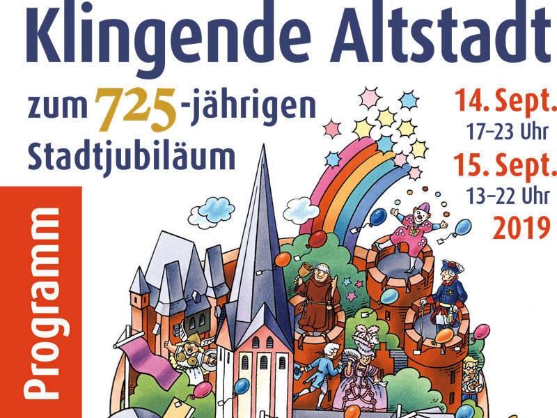 Feiern Sie mit! Kempen wird 725 Jahre!... Sa. 14.September/So. 15.September